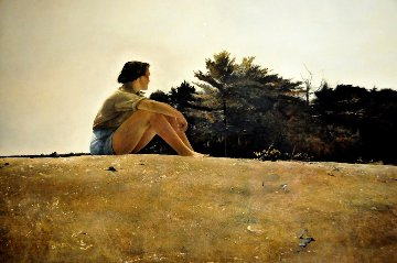 Sandspit HS 1953 HS Limited Edition Print - Andrew Wyeth