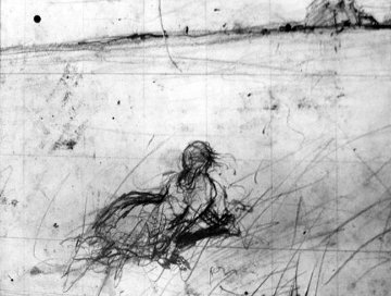 Sketch of Christina 1968 19x24 Limited Edition Print - Andrew Wyeth