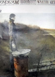 An American Vision-Three Generations Wyeth Art Poster 1988 Limited Edition Print - Andrew Wyeth
