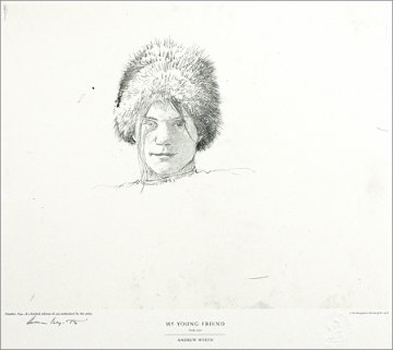 Drawings Portfolio, Set of 10 Collotypes HS Limited Edition Print - Andrew Wyeth
