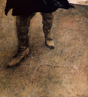Trodden Weed 1984 HS Limited Edition Print - Andrew Wyeth