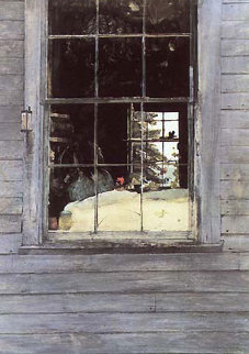 Geraniums HS 1960 Limited Edition Print - Andrew Wyeth