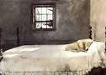 Master Bedroom 1985 Limited Edition Print - Andrew Wyeth