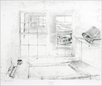 Metropolitan Drawings Portfolio, Set of 10 Collotypes HS 1976 Limited Edition Print - Andrew Wyeth