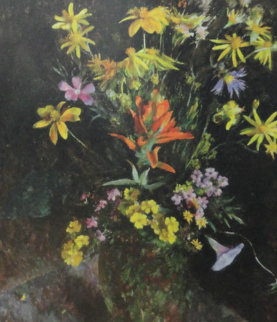 Wildflowers From the Hills HS Limited Edition Print - Henriette Wyeth