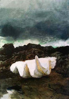 Giant Clam HS Limited Edition Print - Jamie Wyeth