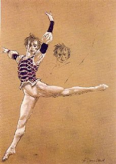 Nureyev AP 1973 HS Limited Edition Print - Jamie Wyeth