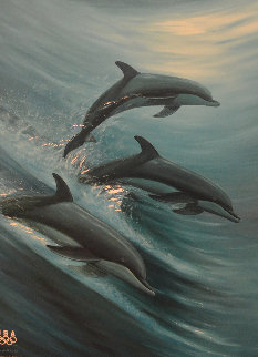 Faster, Higher, Stronger 2007 Limited Edition Print - Robert Wyland
