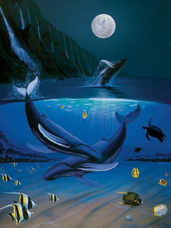 Ocean Passion 2011 Limited Edition Print - Robert Wyland