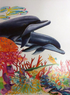 Sea of Color    2005 Limited Edition Print - Robert Wyland