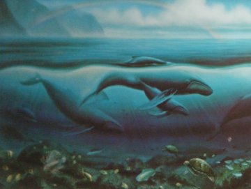 Hawaii (Triptych) 1993 Limited Edition Print - Robert Wyland