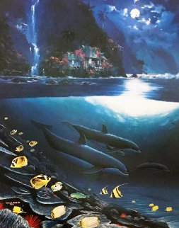 Paradise AP 1990  Limited Edition Print - Robert Wyland