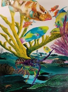 Coral Reef Life 2013 Limited Edition Print - Robert Wyland