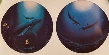 Innocent Age Dolphin Serenity 2013 Limited Edition Print - Robert Wyland