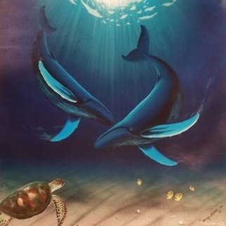 In the Company of Whales 1999 Limited Edition Print - Robert Wyland