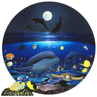 Moonlight Celebration 2004 Limited Edition Print - Robert Wyland