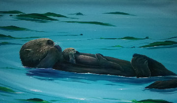 Sea Otter Seas 2006   Limited Edition Print - Robert Wyland