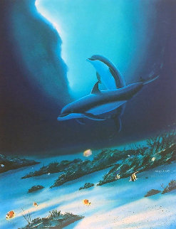 Ocean Children 2002 Limited Edition Print - Robert Wyland