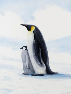 Antarctic Penguins Limited Edition Print - Robert Wyland