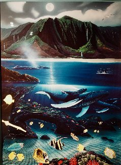 Hanalei Bay Limited Edition Print - Robert Wyland