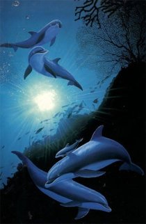 Under Water 1994 Limited Edition Print - Robert Wyland