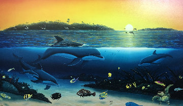 Warm Tropical Waters 2002 Limited Edition Print - Robert Wyland