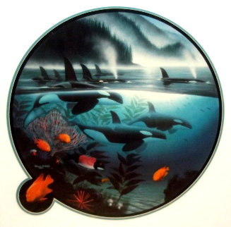 Orca Journey 1990 Limited Edition Print - Robert Wyland