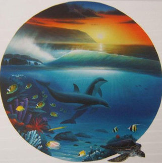 Dolphin Days 2002  Limited Edition Print - Robert Wyland