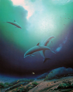 Children Of The Sea 1984 Limited Edition Print - Robert Wyland