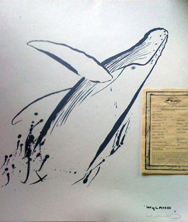 Breaching  1991 Limited Edition Print - Robert Wyland
