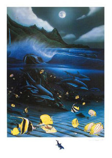 Hanalei Bay 2009 Limited Edition Print - Robert Wyland