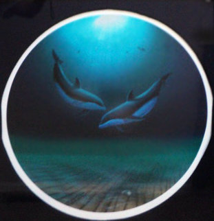 Dolphin Dance 1999 Limited Edition Print - Robert Wyland