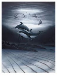 Dolphin Affection Limited Edition Print - Robert Wyland