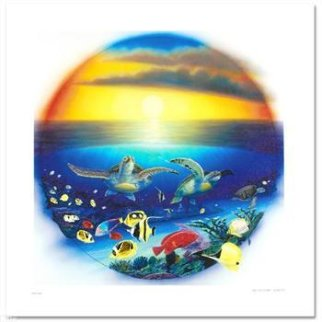 Sea Turtle Reef Limited Edition Print - Robert Wyland