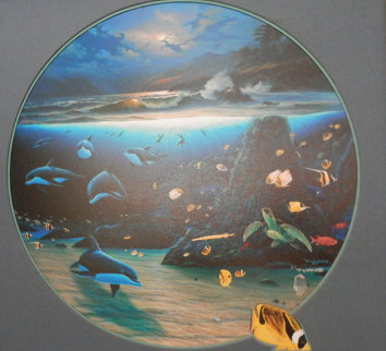 Blue Planet AP Limited Edition Print - Robert Wyland