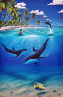 Dreaming of Paradise AP 2003 Limited Edition Print - Robert Wyland