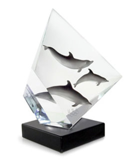 Faster Higher Stronger - Olympic, Acrylic Sculpture 2007 Sculpture - Robert Wyland