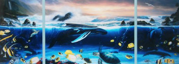 Ocean Trilogy 1992 48x84 Limited Edition Print - Robert Wyland