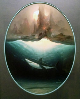 Aumakua And the Ancient Voyagers 1993 Limited Edition Print - Robert Wyland