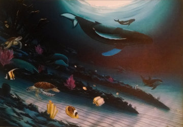 Under the Sea 2005 Embellished Limited Edition Print - Robert Wyland
