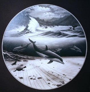 Undersea World 2007 Limited Edition Print - Robert Wyland