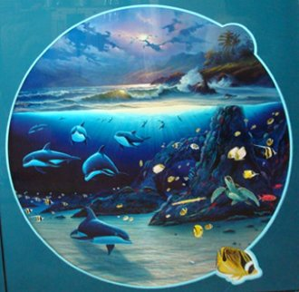 Moonlit Waters 1999 Limited Edition Print - Robert Wyland