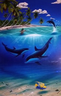 Dreaming of Paradise 2003 w Dan Macklin Limited Edition Print - Robert Wyland