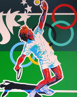 Tennis (From the Centennial Olympic Games) 1996 Limited Edition Print - Hiro Yamagata