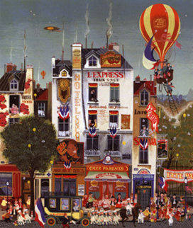 Hotel Concorde 1978 Limited Edition Print - Hiro Yamagata