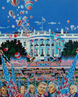 Constitution 200 Years 1990 Limited Edition Print - Hiro Yamagata