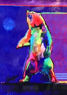 Four Winds Standing Bear 2017 Limited Edition Print - Tim Yanke