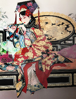 Manchurian Princess 1980 Limited Edition Print - Caroline Young
