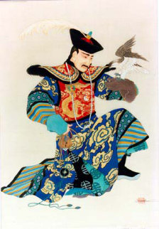 Manchurian Emperor 1991 Limited Edition Print - Caroline Young