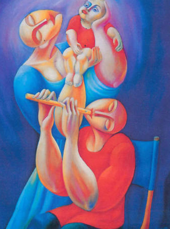 Adoration With Flute 1992